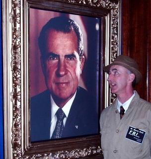 Animated Nixon Portrait