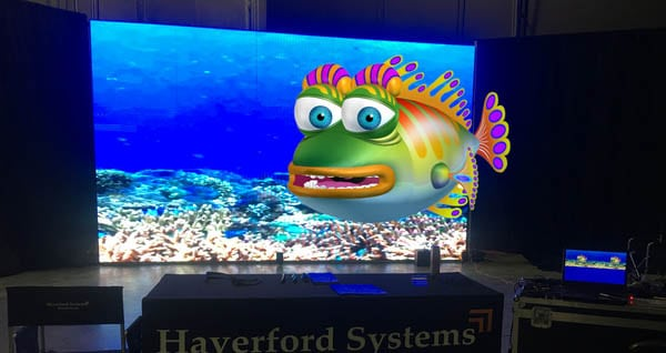 3D Video Walls - CHOPS - Live Animation